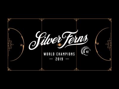 Silver Ferns - Netball Court
