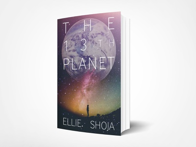 Science Fiction Book Cover — Option 2 book cover mockup book cover design book cover art book cover graphic design typography