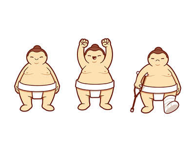 Sumo game character
