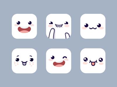 Cute iOS Icons