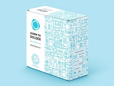 Package design for soldering kit