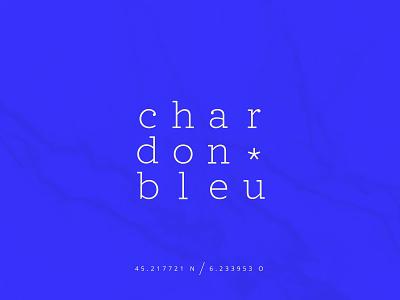 Chardon Bleu | Hotel** in Savoy thistle savoy lounge beige hotel vector rebranding blue typography logo design