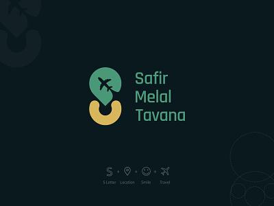 Safir Melal Tavana CI Design grids travel concept graphic design branding graphic deisgn design logo