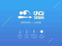 Unco agency logo design
