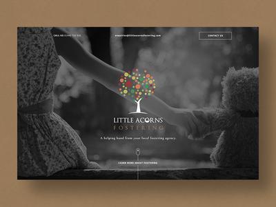 Little Acorns Fostering Website