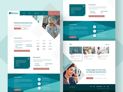 Ratiobox Homepage