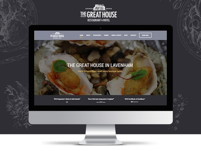 The Great House in Lavenham Website
