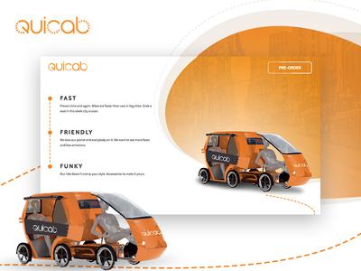 Quicab Website
