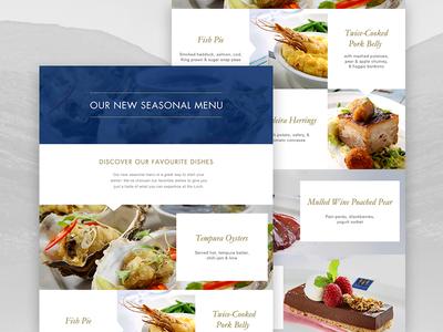 Loch Fyne Restaurant AW15 Menu Launch Landing Page