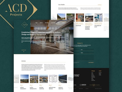 ACD Projects - Website Design