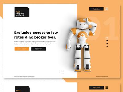 Fast Property Finance - Website Design & Branding