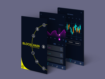 Crypto App block chain crypto currency crypto exchange crypto trading crypto wallet hireme collaborate user experience rebound ui mockup interface ux