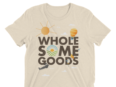 Wholesome Goods Company T-Shirt Design