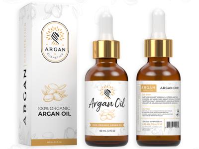 Argan Cosmetics Packaging Design
