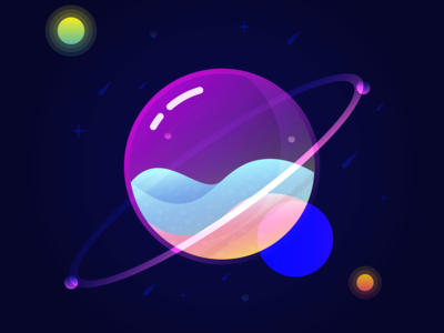 Glass Planet Tutorial