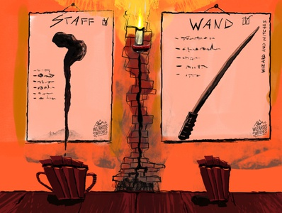 Staff or Wand