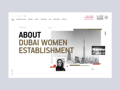 DWE  : First Fold Website Interaction 🌐 flat interaction website design web pages web interface web design ux user experience modern women minimalism glitch design studio design