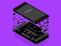 Isometric Iphone