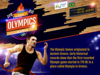 The Olympics Games - Infographic Introduction
