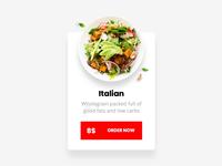 Salad Bar Widget Hover 👆