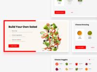 Make Your Own Salad - User Flow 🚚