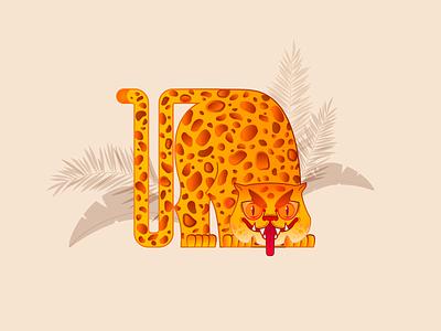 Leopard leopard print leopard design vector t-shirt print illustration animal