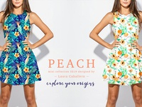 Peach Textile collection