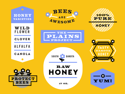Plains Project No. 2 Honey design plainsproject