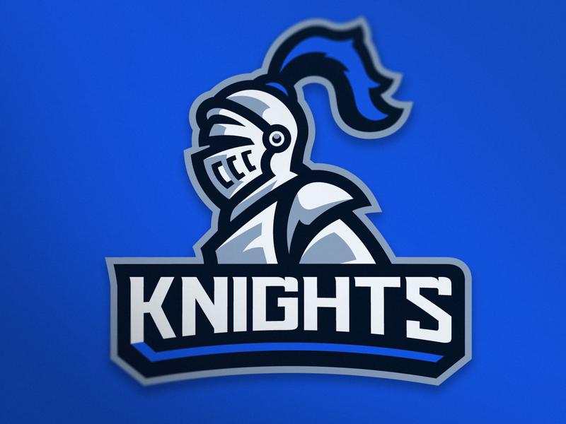 📝 Knights - Mascot Logo ✏️ knights logo knight logo knights vector esports mascot logo logo design logo illustration gaming esportslogo design branding