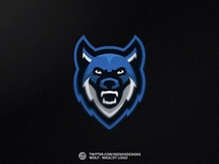 📝 Wolf - Mascot Logo ✏️