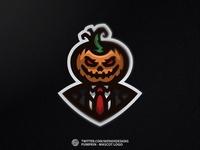 📝 Pumpkin - Mascot Logo ✏️