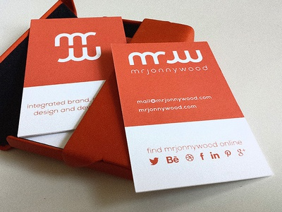 Brand new business cards!