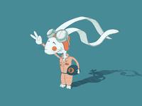 Small character portfolio - Bunny no.9