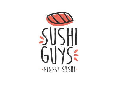 Logo for an upcoming sushi company 🍣