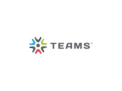 Final logo for Teams stronglogo teamwork team colors student work students illustrator branding illustration minimal flat clean icon logo maritime