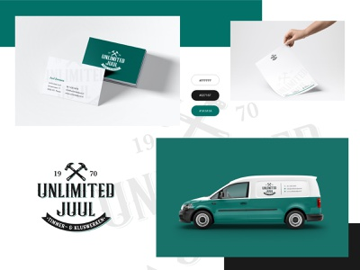 Corporate Identity for a carpenter/woodworker ui flat illustration branding icon identity clean design corporate branding corporate design wrapdesign woodworker carpenter