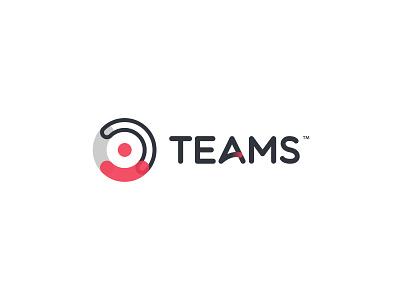 Teams logo redesign digital graphic concept art branding concept logo design illustrator design identity flat clean minimal branding agency t logo logo branding design branding teams