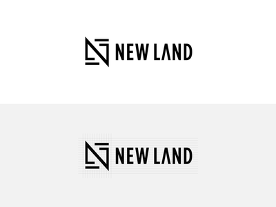 Logo for New land