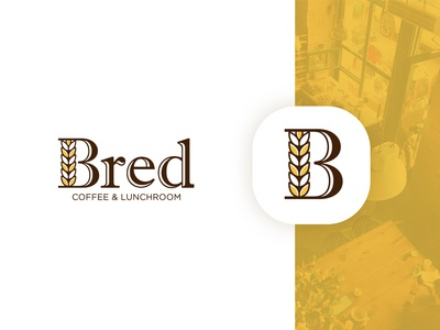 Final logo design for a coffee and lunchroom