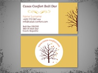 Bussines card for Casas Confort