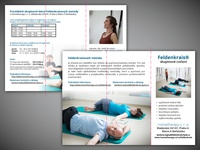 Brochure with information about Feldenkrais method