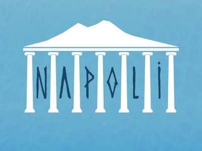Napoli vesuvio vesuv type showusyourtype typo naples napoli
