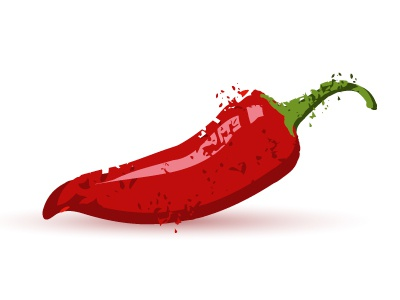 Chilli pepper spice hot taste chillipepper pepper chilli grunge