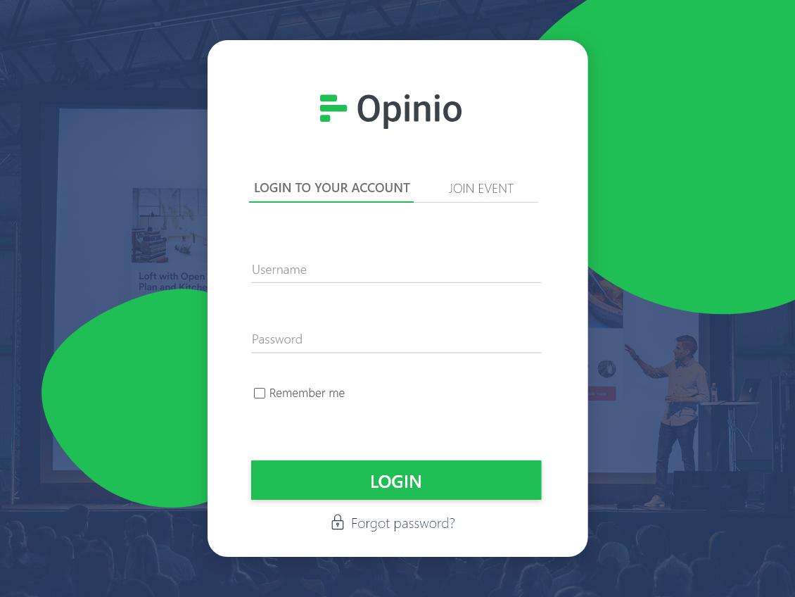 Opinio web design app ui ux forms