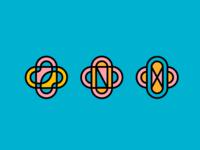 Draplin Inspired Logo Concepts