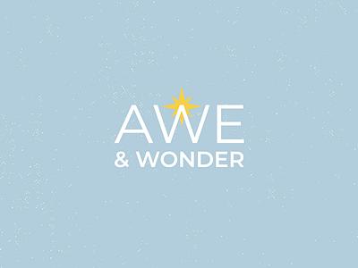 META Awe and Wonder concept 2 design campaign typography type minimalist illustration illustrator