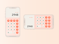 Daily Ui Day 4 / Calculator