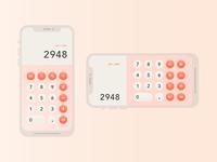 Daily Ui Day 4 / Calculator