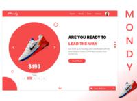 Web Design Shoe Store