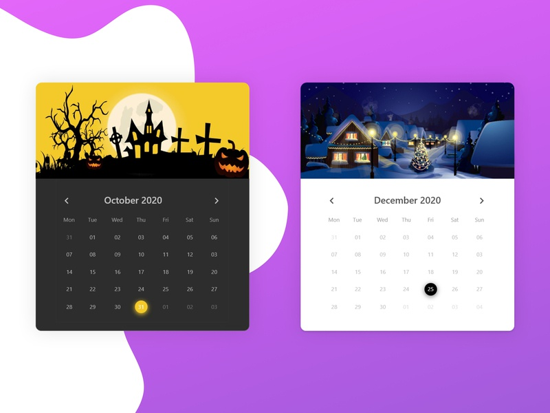 Calender Design date datepicker background design calender userinterface angular component design uidesign uxdesign ux ui